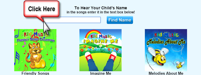 Click Here to Hear Your Child's Name